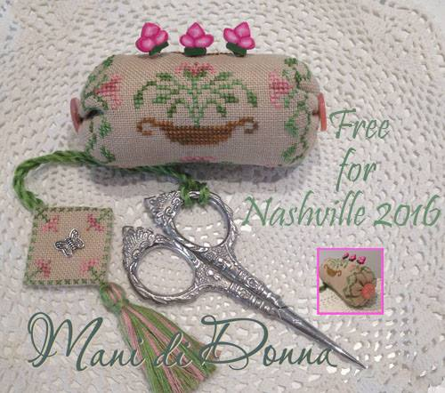 Mani Di Donna Limited Edition Candy Sewing Set ~ Finishing Kit