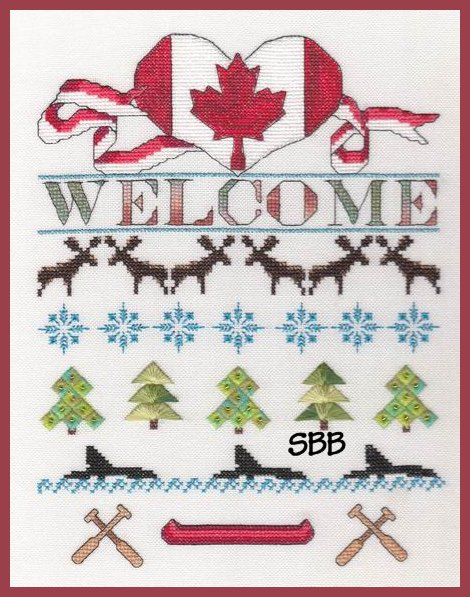 MarNic Designs Canada Day Welcome