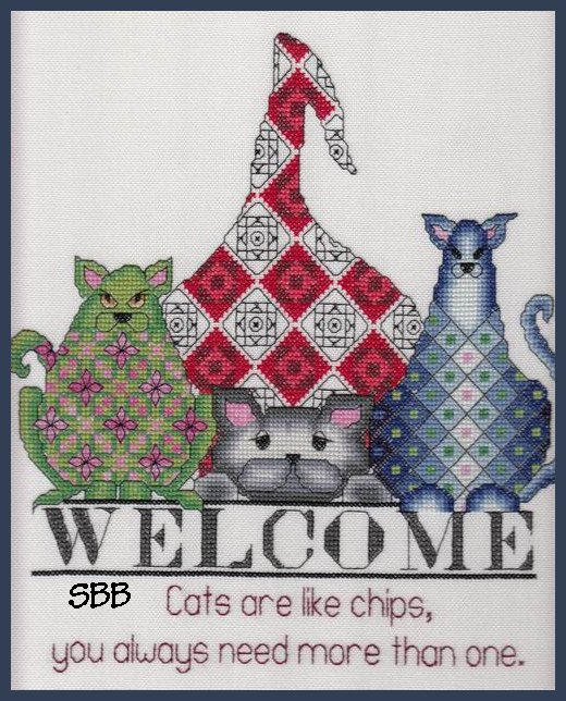 MarNic Designs Cats ~ Like Chips
