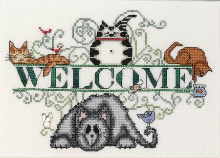 MarNic Designs Cats Welcome