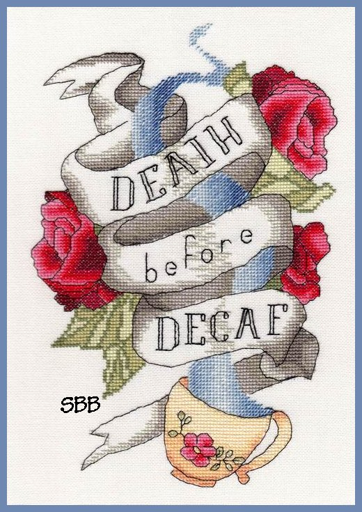 MarNic Designs Death Before Decaf