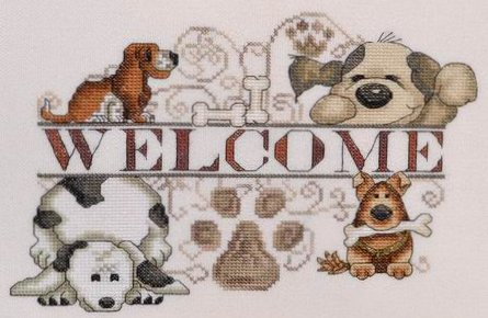 MarNic Designs Dogs Welcome