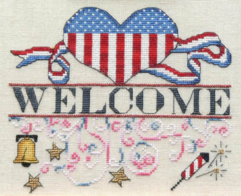 MarNic Designs Independence Day Welcome