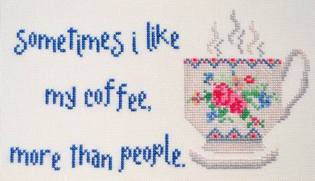 MarNic Designs Little Chuckles ~ Liking My Coffee