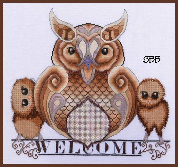 MarNic Designs Owl Family