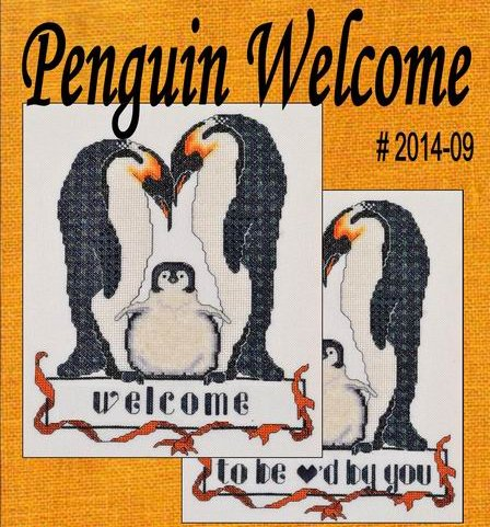MarNic Designs Penguin Welcome