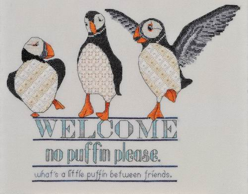MarNic Designs Puffin Welcome