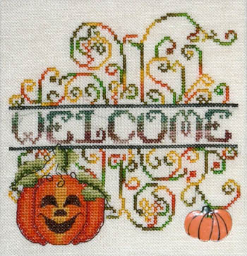 MarNic Designs Pumpkin Patch Welcome
