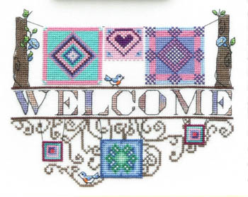 MarNic Designs Quilt Collection Welcome