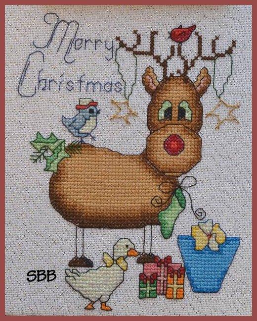 MarNic Designs Rebecca The Reindeer