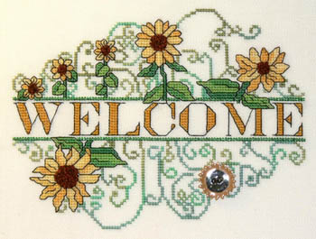 MarNic Designs Sunflower Welcome