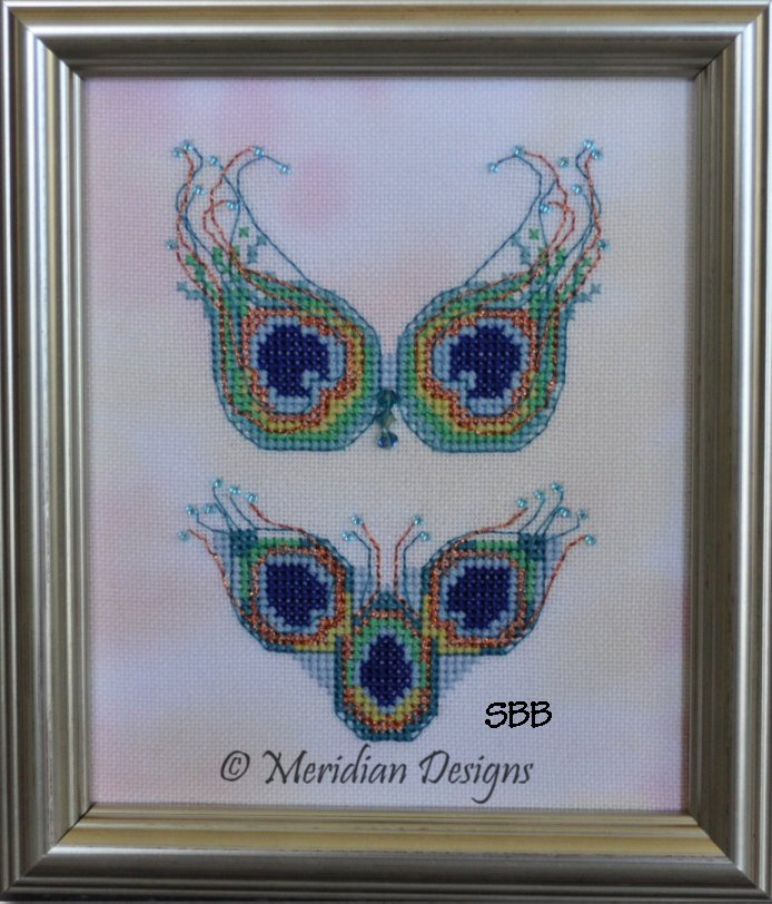 Meridian Designs Peacock Feathers