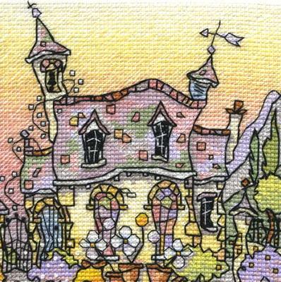 Michael Powell Art MPCP111 Yew Tree Chapel