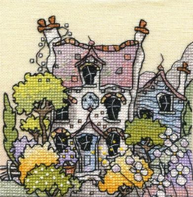 Michael Powell Art MPCP112 Lavender Cottage