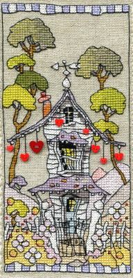 Michael Powell Art MPCP115 House Of Hearts