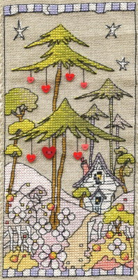 Michael Powell Art MPCP116 Woodland Hearts