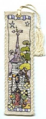 Michael Powell Art MPCP123 White Church ~ Bookmark