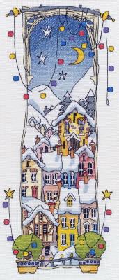 Michael Powell Art MPCP18 Christmas Lights I