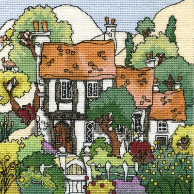 Michael Powell Art MPCP60 Cottage Gardens I