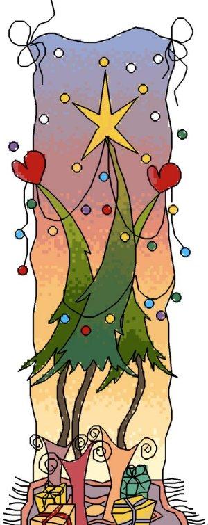 Michael Powell Art MPCP82 Dancing Trees