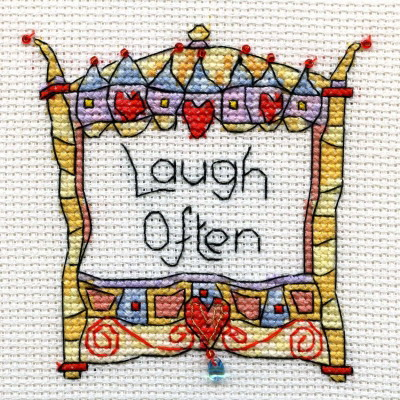 Michael Powell Art MPCPLG009 Laugh Often