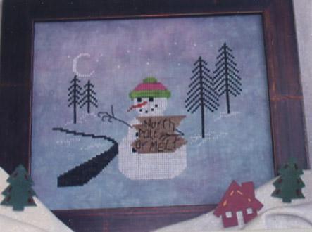 Midnight Stitching North Pole Or Melt