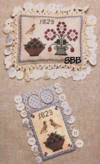 Milady's Needle  Ann Blockley's Pincushion & Scissors Keep