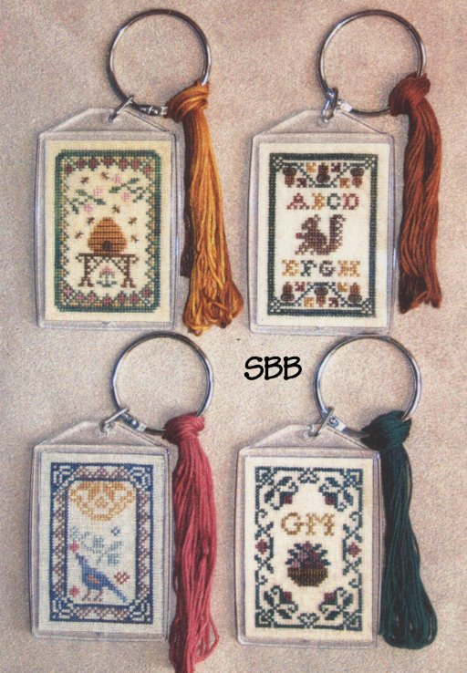 Milady's Needle Floss Tag Alongs with Key Chain