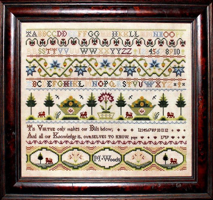 Milady's Needle  M. Woods 1759
