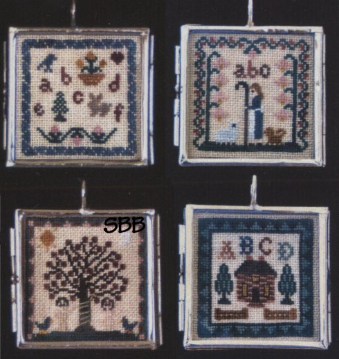 Milady's Needle Milady's Sampler Pendants 1 with One Pendant