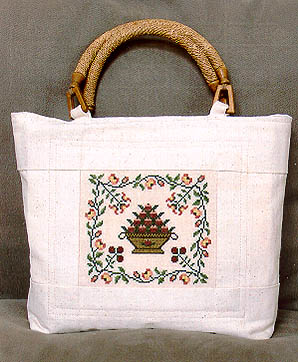 Milady's Needle Summers Bounty Purse