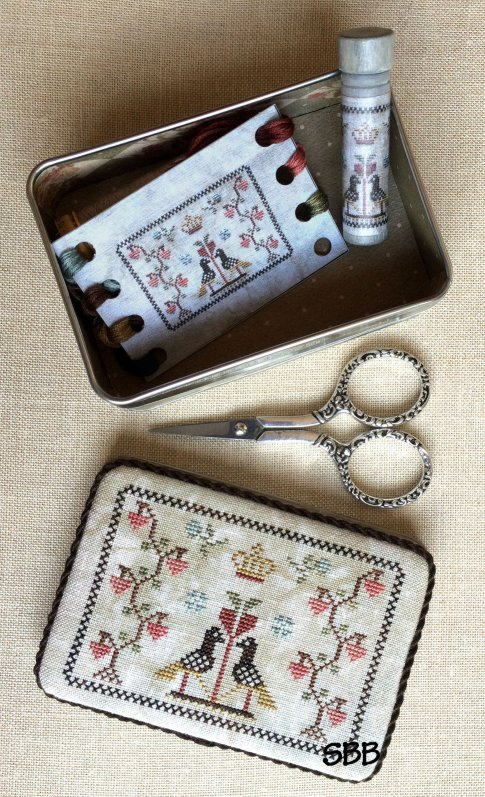 Milady's Needle Limited Edition Sweetheart Sewing Tin Kit