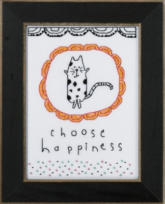 Mill Hill Amylee Weeks Kits AW301611 2016 Choose Happiness