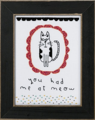Mill Hill Amylee Weeks Kits AW301612 2016 You Had Me At Meow
