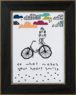 Mill Hill Amylee Weeks Kits AW301613 2016 Makes Your Heart Smile