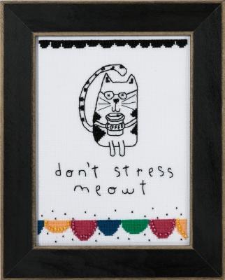 Mill Hill Amylee Weeks Kits AW301614 2016 Don't Stress Meowt