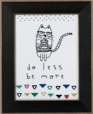 Mill Hill Amylee Weeks Kits AW301615 2016 Do Less, Be More