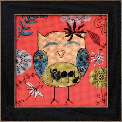 Mill Hill Amylee Weeks Kits AW304101 2014 Be Happy