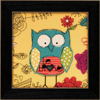 Mill Hill Amylee Weeks Kits AW304102 2014 Be Brave