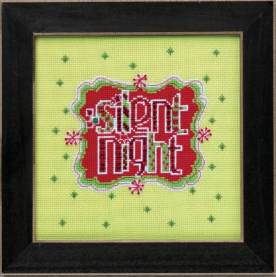 Mill Hill Amylee Weeks Kits AW304201 2014 Silent Night