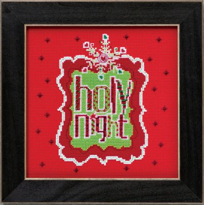 Mill Hill Amylee Weeks Kits AW304202 2014 Holy Night