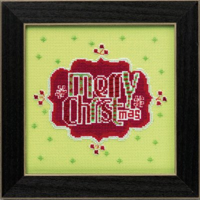 Mill Hill Amylee Weeks Kits AW304203 2014 Merry Christmas