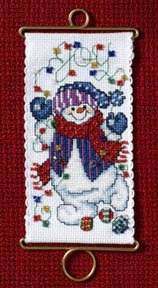 Mill Hill Banding Kits MH126301 Holiday Greetings 2006 ~ Joy Snowman