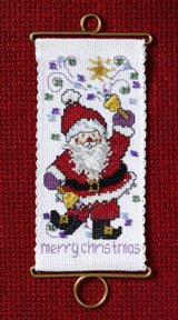 Mill Hill Banding Kits MH126305 Holiday Greetings 2006 ~ Merry Christmas Santa