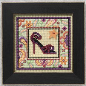 Mill Hill Buttons & Bead Kits MH140101 Spring Series  2010 ~ High Heel