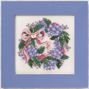 Mill Hill Buttons & Bead Kits MH140104 Spring Series 2010 ~ Hydrangea Wreath