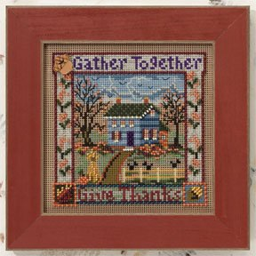 Mill Hill Buttons & Bead Kits MH140202 Autumn Series 2010 ~ Gather Together