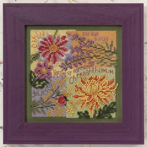 Mill Hill Buttons & Bead Kits MH140203 Autumn Series 2010 ~ Fall Blooms