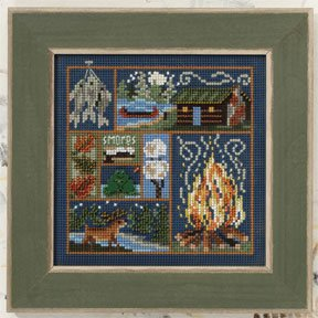 Mill Hill Buttons & Bead Kits MH140205 Autumn Series 2010 ~ Cabin Fever