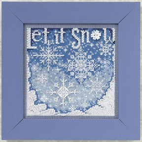Mill Hill Buttons & Bead Kits MH140303 Winter Series 2010 ~ Snowfall